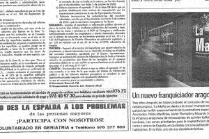 Heraldo de Aragón – «Un nuevo franquiciador aragonés» |Febrero 2003