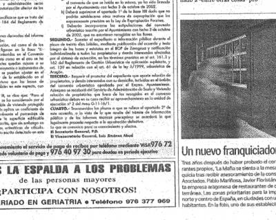 Captura de pantalla 2017 05 10 a las 19.54.59 400x320 - Heraldo de Aragón - «Un nuevo franquiciador aragonés» |Febrero 2003