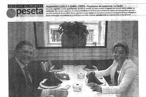 La Tribuna de Guadalajara – «La acogida ha sido extraordinaria, estamos sorprendidos» |Diciembre 2004