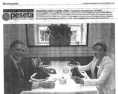 Captura de pantalla 2017 05 10 a las 19.19.23 400x320 - La Tribuna de Guadalajara - «La acogida ha sido extraordinaria, estamos sorprendidos» |Diciembre 2004