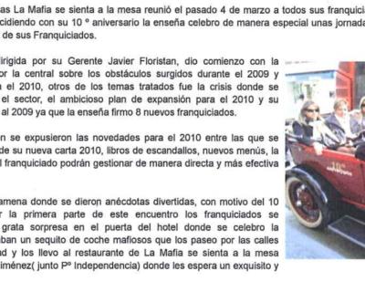 Captura de pantalla 2017 05 10 a las 19.34.35 400x320 - Franquicias TV - «La Mafia celebra su 10º aniversario» |Marzo 2010