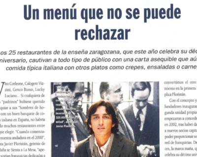 Captura de pantalla 2017 05 10 a las 19.37.21 400x320 - Heraldo de Aragón - «Un menú que no se puede rechazar» |Abril 2010