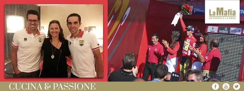 Blog Vuelta Espana Contador - Crónica de la visita de Alberto Contador