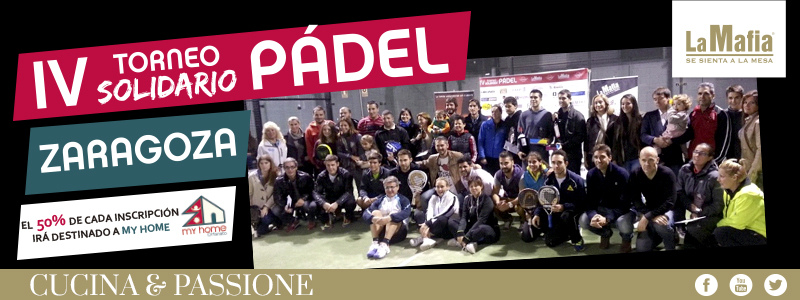 Blog TorneoPadel - IV Torneo Solidario de Pádel La Mafia se sienta a la mesa