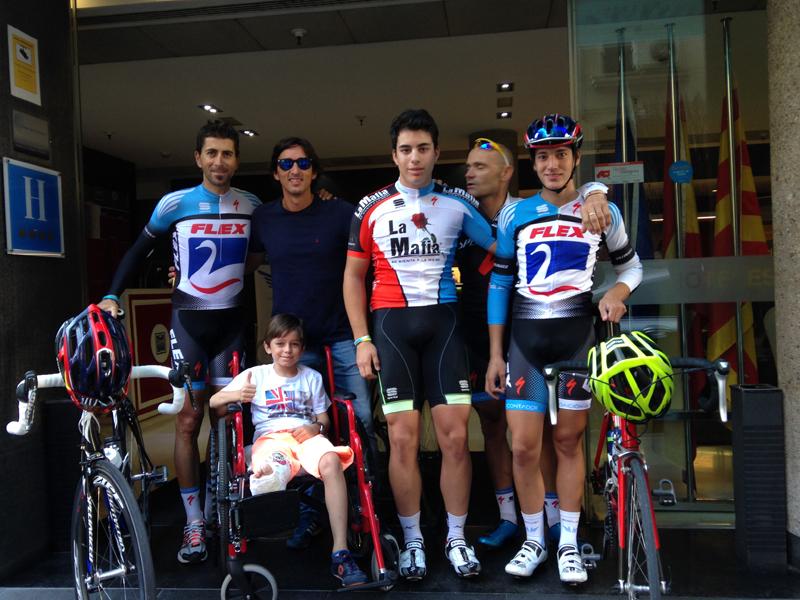 Colaboración Alberto Contador
