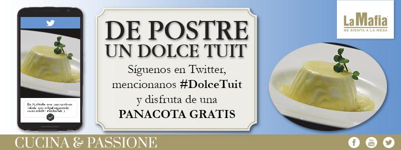 Blog La Mafia DolceTuit - Tu postre a cambio de un tuit
