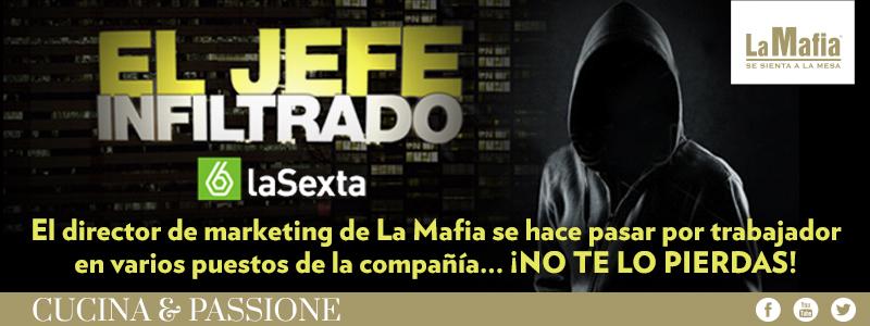 Blog La Mafia El Jefe Infiltrado - La Sexta se infiltra en La Mafia se sienta a la mesa
