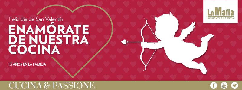 Blog La Mafia San Valentin - Enamórate de nuestra cocina. San Valentín