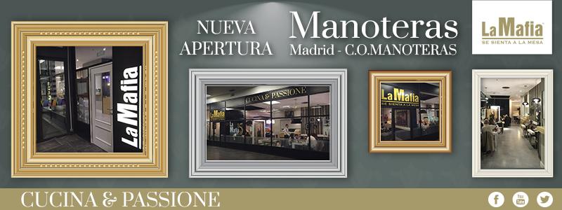 Blog La Mafia Apertura Manoteras - La Mafia se sienta a la mesa en C.O. Manoteras (Madrid)
