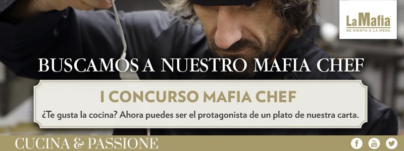 Blog La Mafia Mafia Chef - ¿Quieres ser nuestro Mafia Chef?