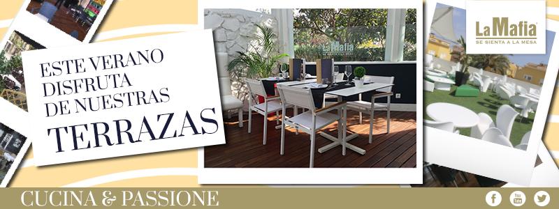 Terrazas - La Mafia se sienta a la mesa sale a la calle