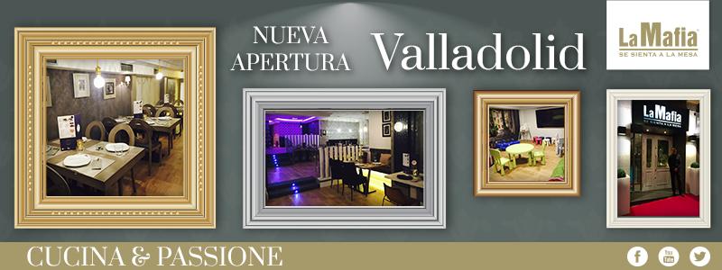Blog La Mafia Apertura Valladolid - Valladolid también se sienta a la mesa con La Mafia