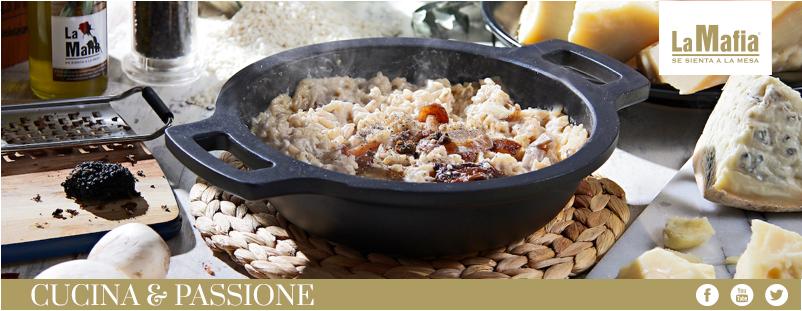Risotto tartufata iberica lamafia - Hoy traemos receta para el fin de semana