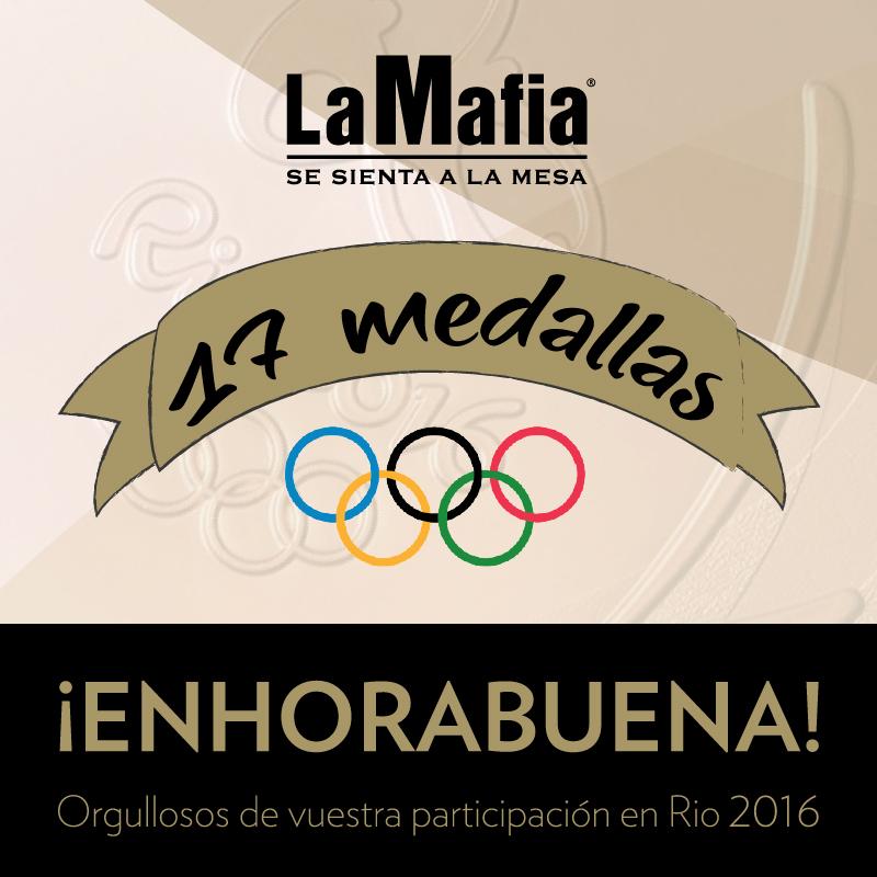 rio - Felicidades, orgullosos de nuestros olímpicos.