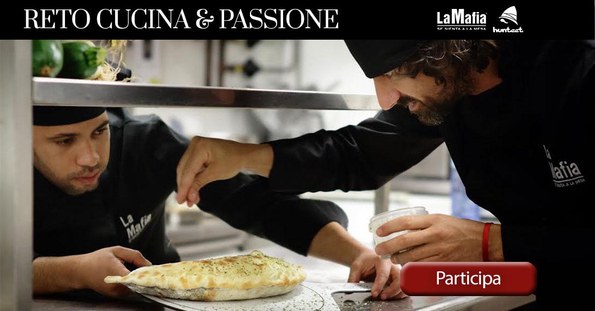 "hunteet - Reto ""cucina & passione"""