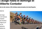 2016Septiembre - Zaragoza acoge hasta el domingo el Campus de Alberto Contador