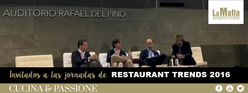 Cabecera ResTrends - La Mafia se sienta a la mesa invitada a la VIII edición de Restaurant Trends