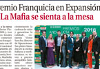 Premio a la Franquicia en Expansión 'La Mafia se sienta a la mesa'