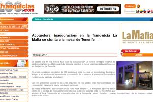 Acogedora inauguración en la franquicia de 'La Mafia se sienta a la mesa' en Tenerife