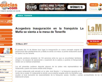 marzo tenerife 100franquicias 400x320 - Acogedora inauguración en la franquicia de 'La Mafia se sienta a la mesa' en Tenerife