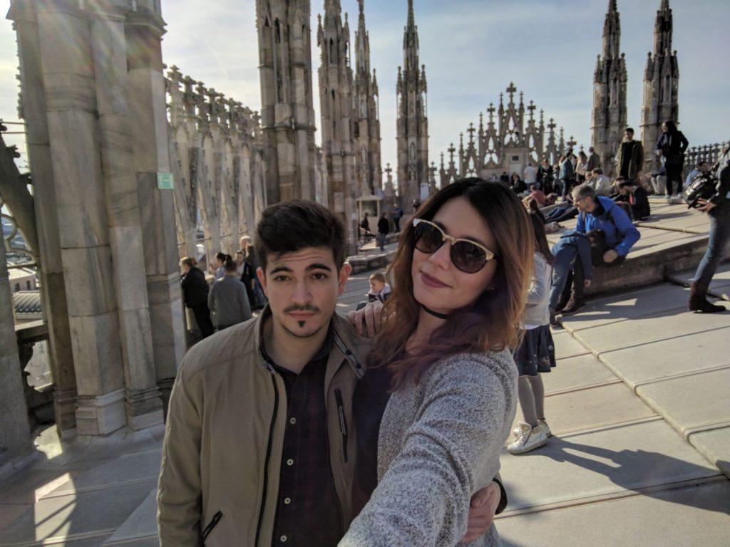 milan 1 1024x768 - Viaje a Italia con los ganadores del premio coca-cola la Mafia se sienta a la mesa 2016