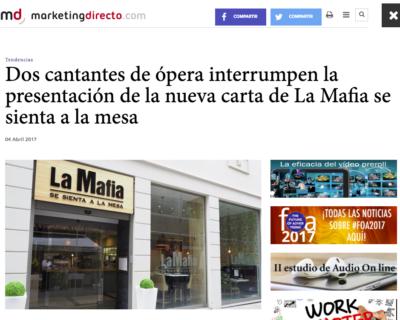 Captura de pantalla 2017 04 10 a las 12.10.51 400x320 - Dos cantantes de ópera interrumpen la presentación de la nueva carta de 'La Mafia se sienta a la mesa'