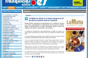 'La Mafia se sienta a la mesa' inaugura el 27 de abril su nuevo local en Cáceres
