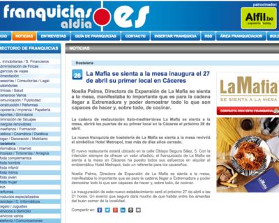 Captura de pantalla 2017 04 26 a las 18.26.53 400x320 - 'La Mafia se sienta a la mesa' inaugura el 27 de abril su nuevo local en Cáceres