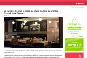 'La Mafia se sienta a la mesa' inaugura mañana su primera franquicia en Cáceres