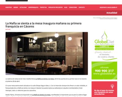 Captura de pantalla 2017 04 26 a las 18.34.45 400x320 - 'La Mafia se sienta a la mesa' inaugura mañana su primera franquicia en Cáceres