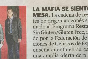 'La Mafia se sienta a la mesa' se suma al 'gluten free'