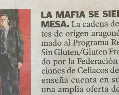 capture 20170512 113725 400x320 - 'La Mafia se sienta a la mesa' se suma al 'gluten free'