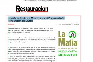 'La Mafia se Sienta a la mesa' se suma al Programa FACE