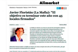 Javier Floristán: «El objetivo es este año terminar con 45 locales firmados»
