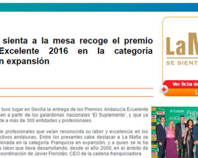 capture 20170512 122915 400x320 - 'La Mafia se sienta a la mesa' recoge el premio Andalucía Excelente 2016