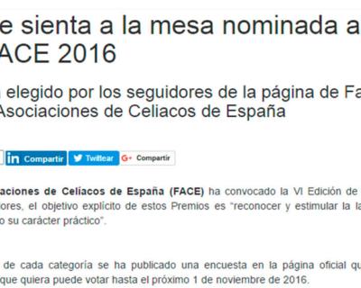 capture 20170512 123602 400x320 - 'La Mafia se sienta a la mesa', nominada a los premios FACE 2016