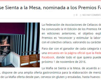 capture 20170512 123904 400x320 - 'La Mafia se sienta a la mesa', nominada a los premios FACE 2016