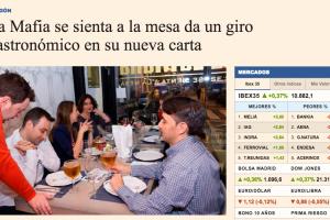 La Mafia se sienta a la mesa da un giro gastronómico en su nueva carta