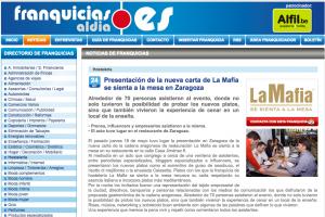 Presentación de la nueva carta de La Mafia se sienta a la mesa en Zaragoza