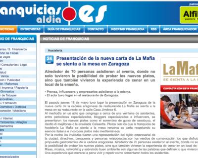 Captura de pantalla 2017 06 13 a las 18.11.25 400x320 - Presentación de la nueva carta de La Mafia se sienta a la mesa en Zaragoza
