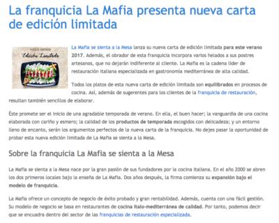 Captura de pantalla 2017 06 13 a las 18.24.24 400x320 - La franquicia La Mafia presenta nueva carta de edición limitada