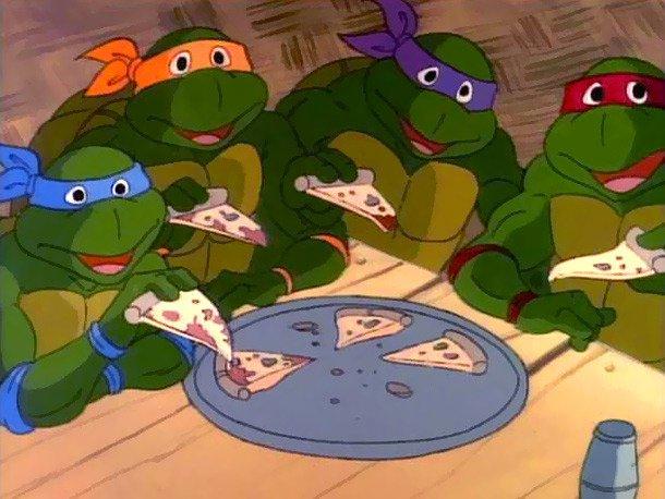 Los dibujos animados también comen pizza 1 - Los dibujos animados también comen pizza
