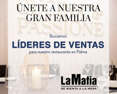 OfertaEmpleo LideresVentas LaMafiaPalma 400x320 - PALMA - Líderes de ventas en 'La Mafia se sienta a la mesa'