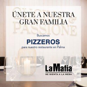 OfertaEmpleo Pizzeros LaMafiaPalma 300x300 - La Mafia se sienta a la mesa busca pizzeros en Palma