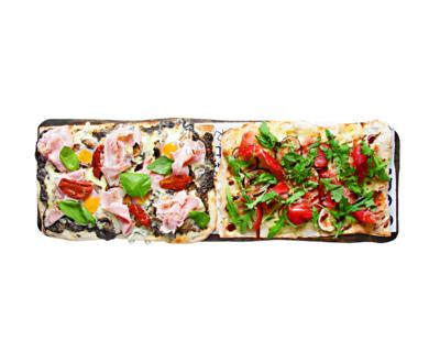 Pizza Taglio Gourmet La Mafia se sienta a la mesa 400x320 - Descubre las propuestas más veraniegas de La Mafia se sienta a la mesa