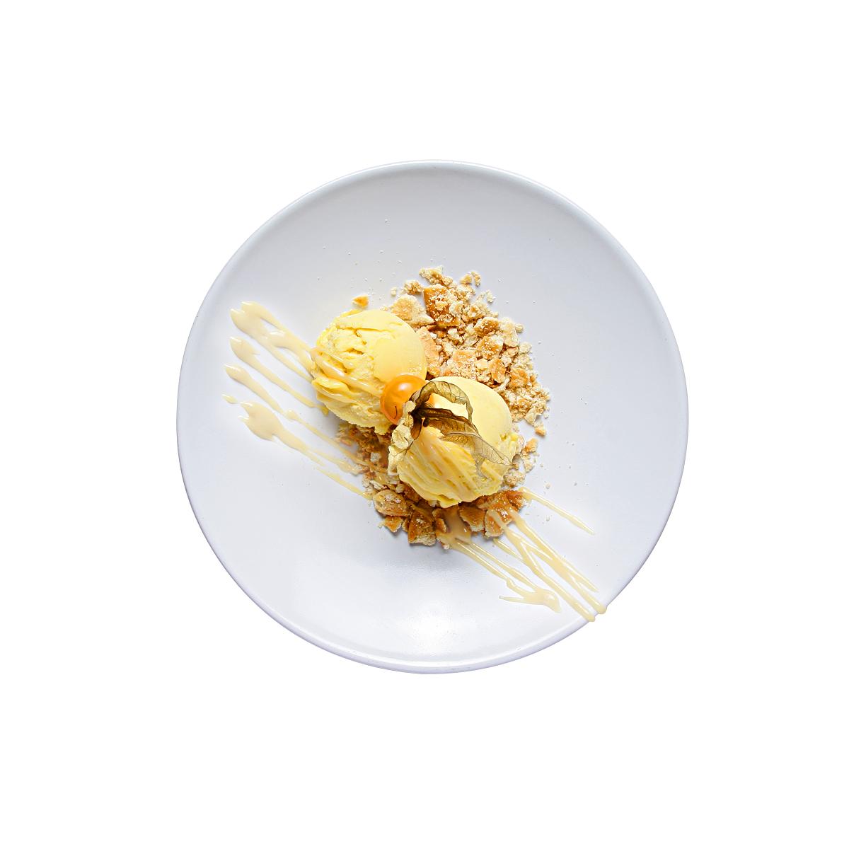 Sorbete de helado de mango La Mafia se sienta a la mesa - Descubre las propuestas más veraniegas de La Mafia se sienta a la mesa