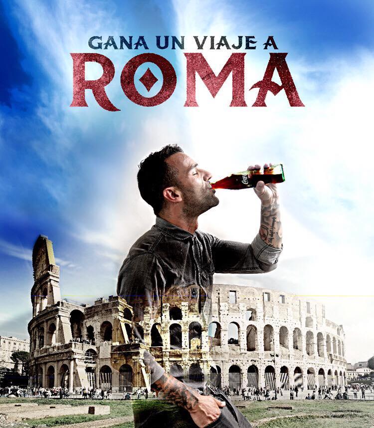 Sorteo viaje a Roma La Mafia se sienta a la mesa - La Mafia se sienta a la mesa y Coca Cola te llevan a la capital de Italia