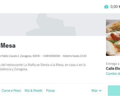 20170629 Mafia0 400x320 - 'La Mafia se sienta a la mesa' firma un acuerdo con Deliveroo