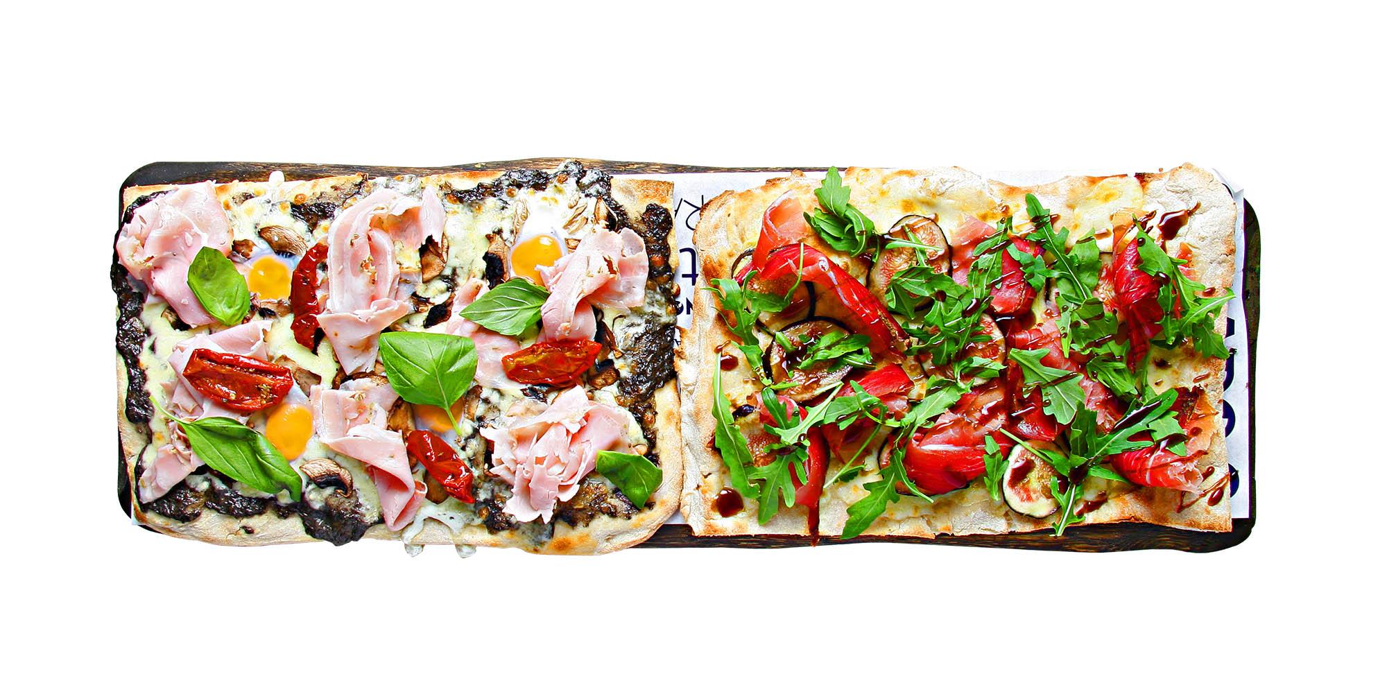 Pizza Taglio Gourmet La Mafia se sienta a la mesa - Por qué no te cansas de La Mafia se sienta a la mesa