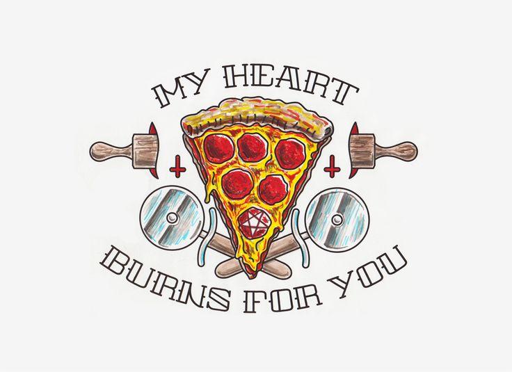 4 declaraciones de amor en forma de pizza 3 - 4 declaraciones de amor en forma de pizza